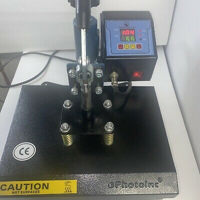 Ephotoinc Swing Away 9 X 12 T Shirt Heat Press Machine Transfer Sublimation