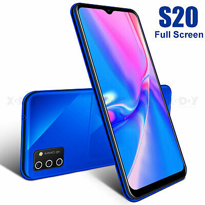 Android Phone - 6.6 inch 2020 New S20 Unlocked Cell Phone Android 9.0 Smartphone 2SIM AT&T Cheap