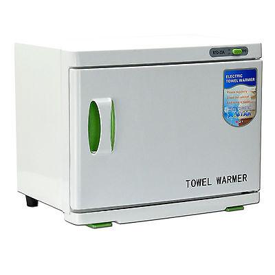 23L UV Facial Towel Sterilizer Cabinet Warmer Salon Heater Disinfection Beauty