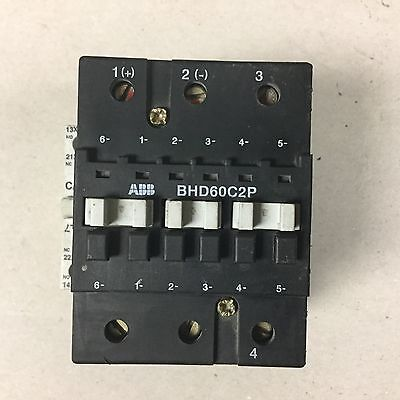 Abb Bhd60c2p Contactor With 120 Volt Coil