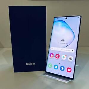 Samsung NOTE 10 AURA BLACK 256GB BOX PERFECT CONDITION