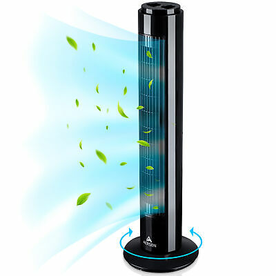 AERSON® Turmventilator 76 cm Standventilator Säulenventilator Ventilator Timer