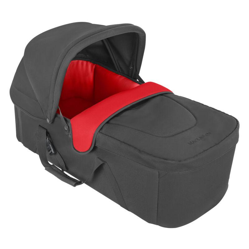 Maclaren XLR Carrycot, Charcoal/Cardinal
