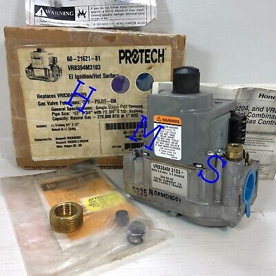 Protech Honeywell Intermittent Pilot Combination Gas Control Valve 60-21621-81