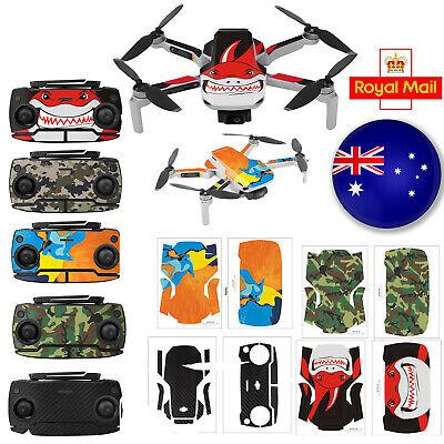 Multicolor PVC Waterproof Sticker Decal for Mavic Mini Drone Accessories #UK