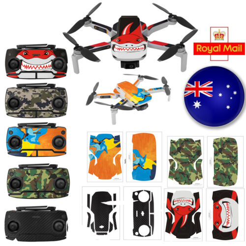 Multicolor PVC Waterproof Sticker Decal for Mavic Mini Drone Accessories #UK