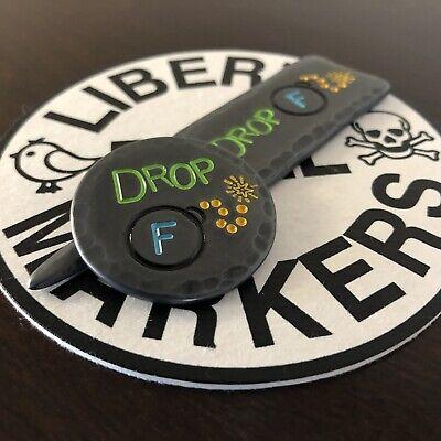 DROP F-BOMBS!  Hand Made Golf Divot Tool/Ball Marker Combo Set!
