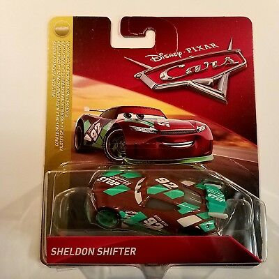 Disney Pixar Cars Sheldon Shifter Sputter Stop 92 Next Gen Piston Cup Racer (Disney Cars Piston Cup)