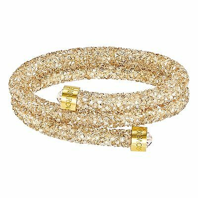 Swarovski Crystal CRYSTALDUST BANGLE DOUBLE GOLDEN 5237763