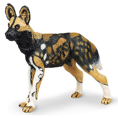 (African Wild Dog Wildlife Figure Safari Ltd NEW Toys Educational Figurine Kids)
