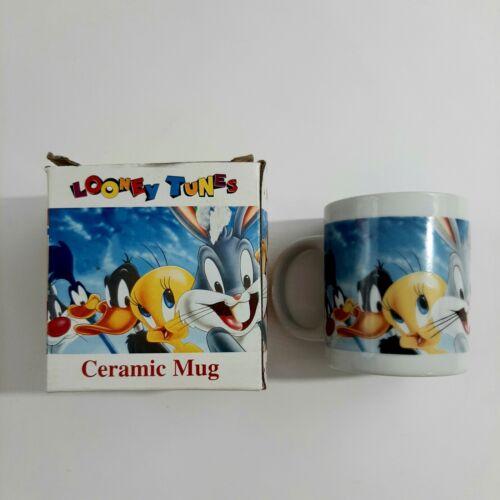 Vintage 1996 Looney Tunes Ceramic Mug 10 oz Giftco Inc New