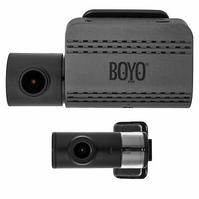 VTR219GW :  Full Hd 2 Channel Dash Camera Recorder with Wi-Fi Connectivity to Sm