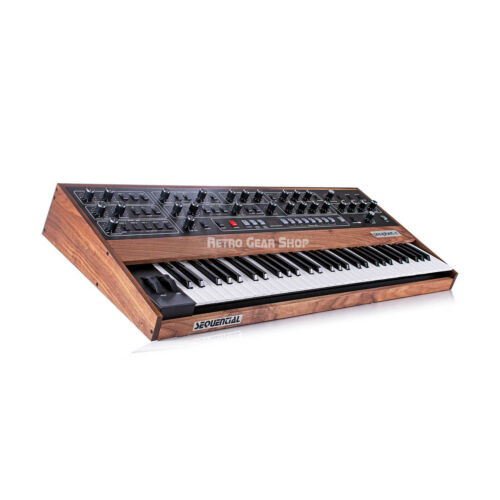 Sequential Prophet 5 Rev 4 Reissue 61-Key Polyphonic Analog Synthesizer in stock