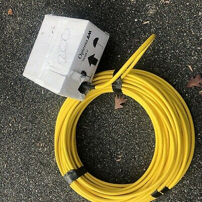 Opterna Model Ctp Collector Terminal Plate 200ft Of 144 Fiber Optic Cable