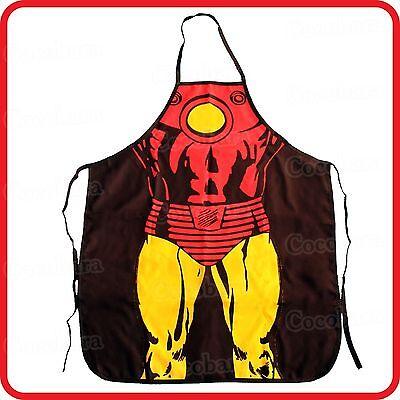 Funny Superman Costume (APRON-FUNNY-SUPERHERO SUPERMAN STRONG MUSCLE)