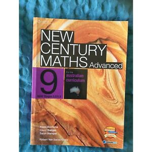 New Century Maths Advanced 9 Bootsma et al. with 3 unused access codes