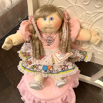 Babyland 15th Anniverssary Soft Sculpture Cabbage Patch