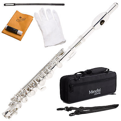 New Silver Plated Key of C PICCOLO w/ Case+Warranty on Rummage