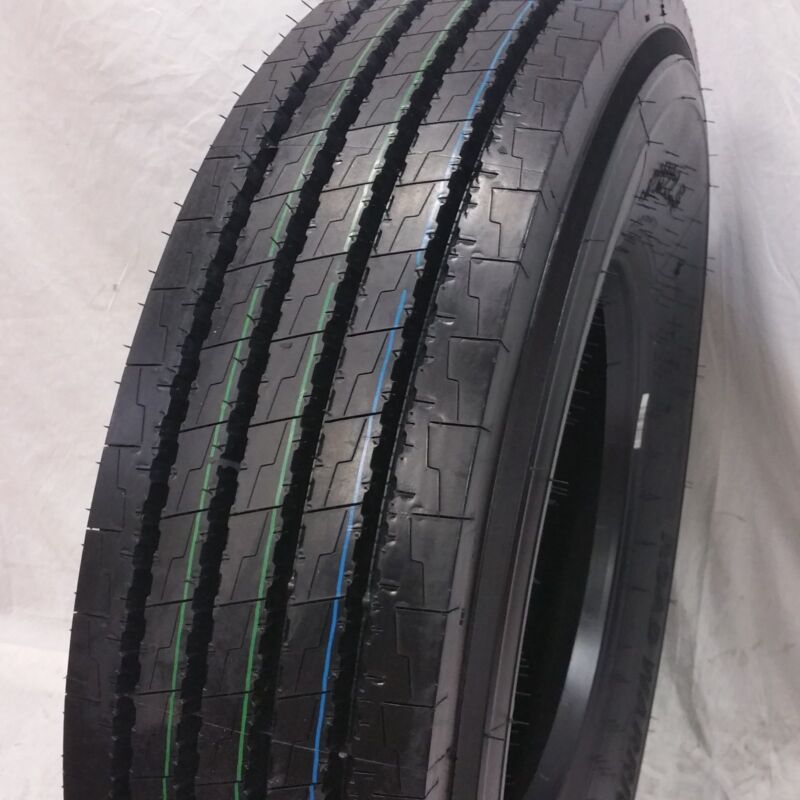(2-tires) Road Crew 12r22.5 J/18pr 152/149m- New Steer All Position 12225