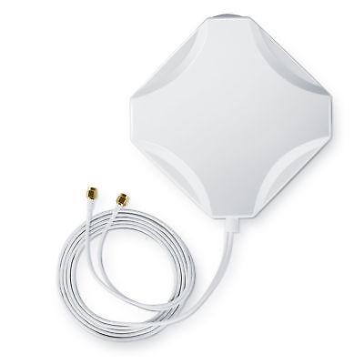 Aplic 4G Hochleistungs LTE Antenne | 15dBi | Verstärker Antenne | MIMO