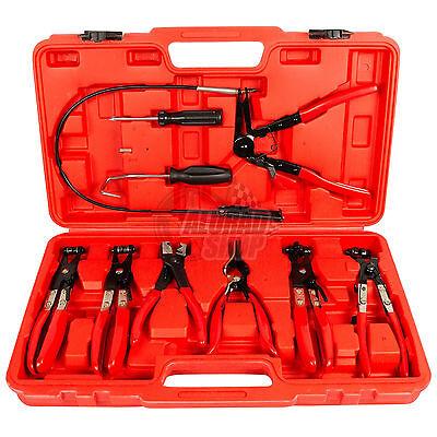 Schlauchklemmenzangen Set Schlauchschellenzange Schlauchschelle Zange Werkzeug