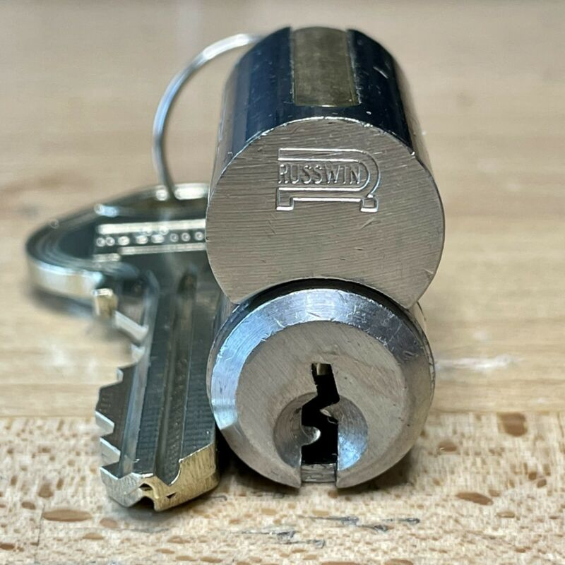 RUSSWIN 6-Pin LFIC (D1 Keyway) w/ Operating and Control Keys - Locksport