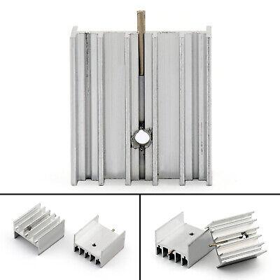 10x Heat Sink Cooler 23x17x25mm Radiator For Power Cpu Transistormosfetic B Ua