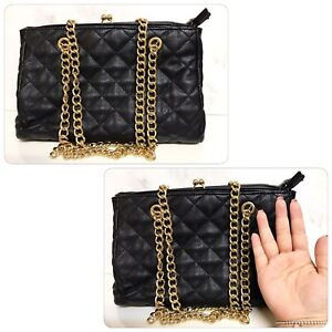 Forever21 Black Chain Bag - Very Well Made