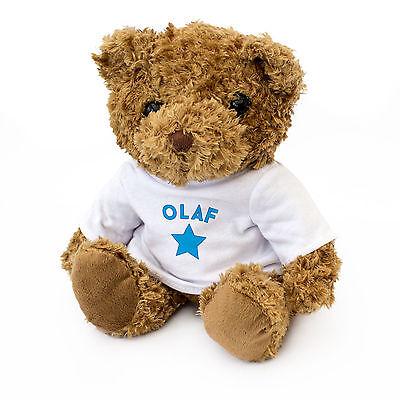 NEW - OLAF - Teddy Bear - Cute And Cuddly - Gift Present Birthday Xmas