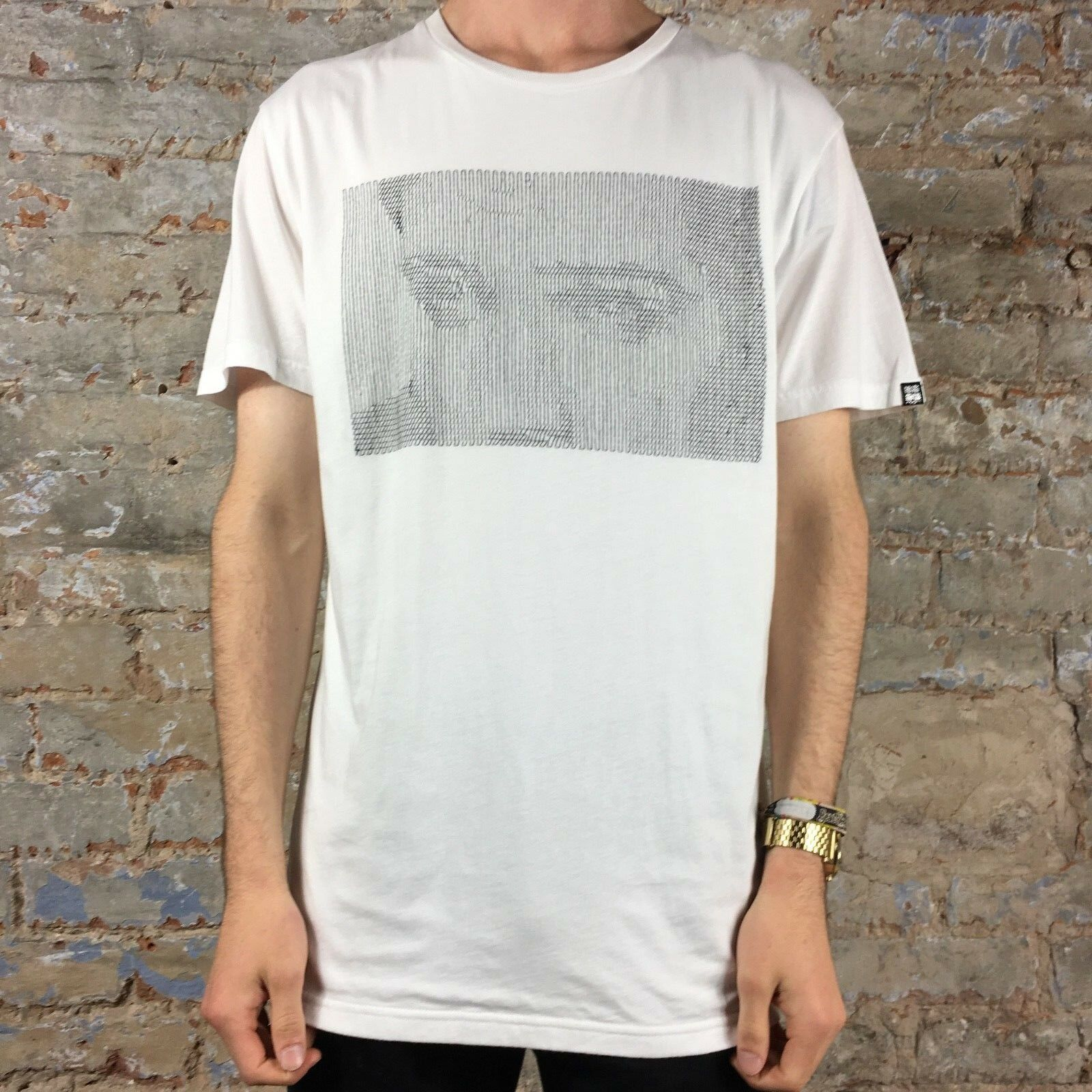 Details about Insight Suspicious Minds Tee T Shirt Brand New Size: S,M White