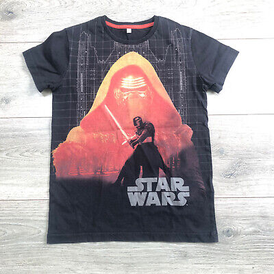 Boys Star Wars T-shirt 7-8yrs Excellent Condition Marks & Spencer