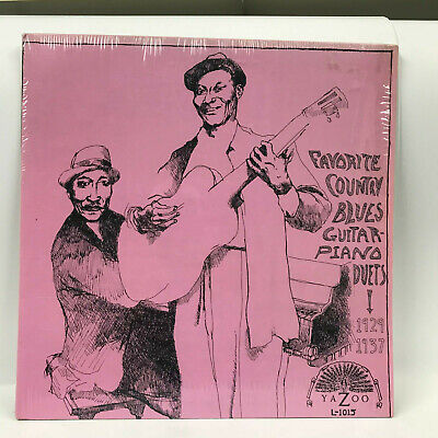 Favorite Country Blues Guitar Piano Duets Yazoo Vinyl opened in shrink wrap  Blues Country Piano