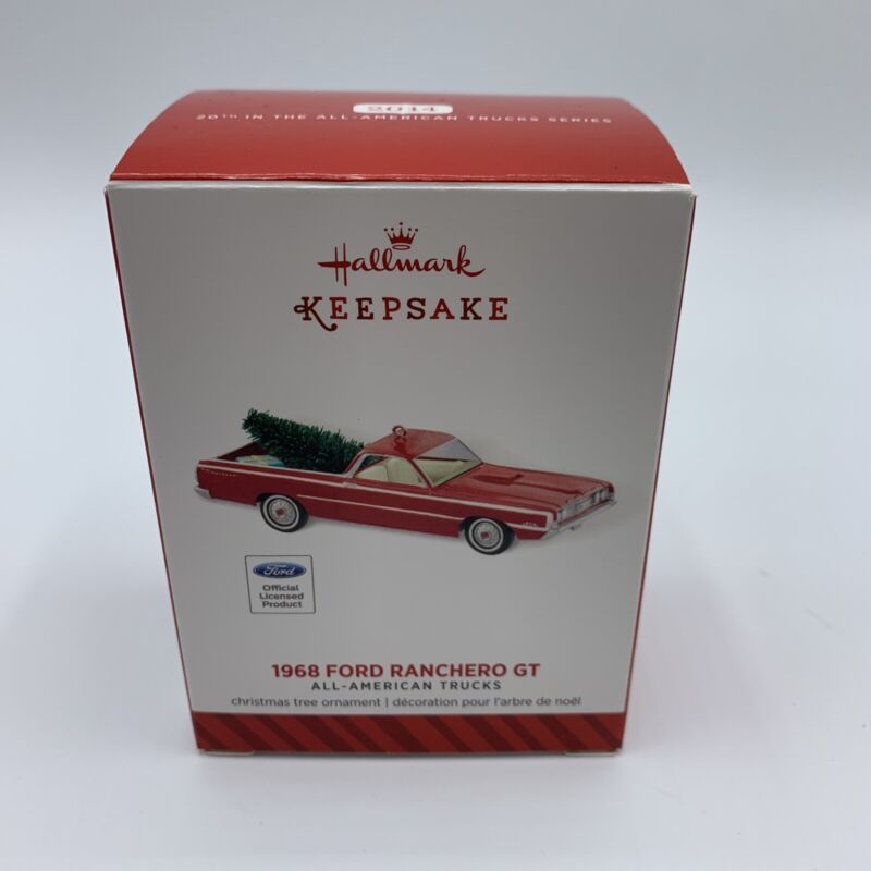 2014 Hallmark Keepsake Ornament 1968 Ford Ranchero GT All American Truck Series
