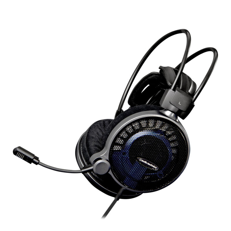 Audio-Technica ATH Wired Stereo Gaming Headset Blue/Black AUD ATHADG1X