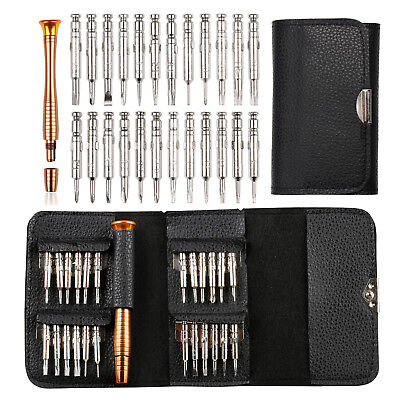 25 in 1 Magnetic Screwdriver Set Precision Repair Tool Kits for PC Watch Camera