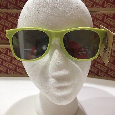 Vans Glasses Neon Green UV 400 Protection