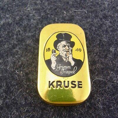 alte Blechdose Kautabak Grimm & Triepel Nordhausen