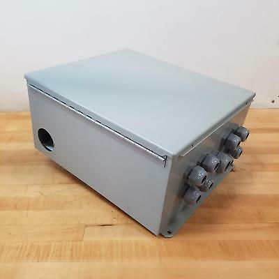 Hoffman A16148ch Junction Box Enclosure 16l X 14w X 8h Type 1213 - Used