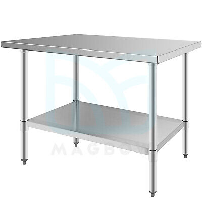 24 X 48 Commercial Stainless Steel Prep Work Table For Kitchen Food Restaurant