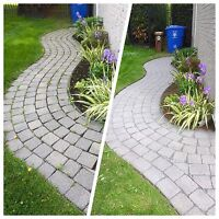 Paver Stone Maintenance - Clean & Repair -  514-574-6650