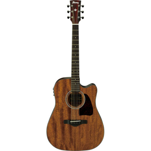 Ibanez AW54CE - Open Pore Natural Cutaway Acoustic Guitar