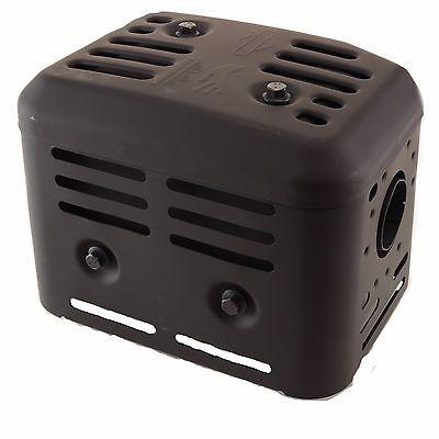Muffler Assy incl. Gasket, Fits: Briggs 1450 Series (306cc, 10hp) (19N1) 593090