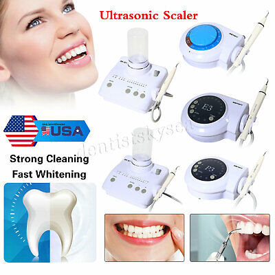Oral Clean Ultrasonic Dental Scaler Whitening Fit Cavitron Ems Dte Satelec New