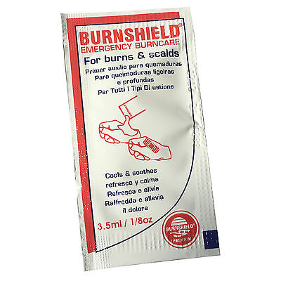 Emergency Burn Care (BURNSHIELD EMERGENCY FIRST AID BURN CARE SCALDS COOLING SOOTHING BLOT SACHETS)