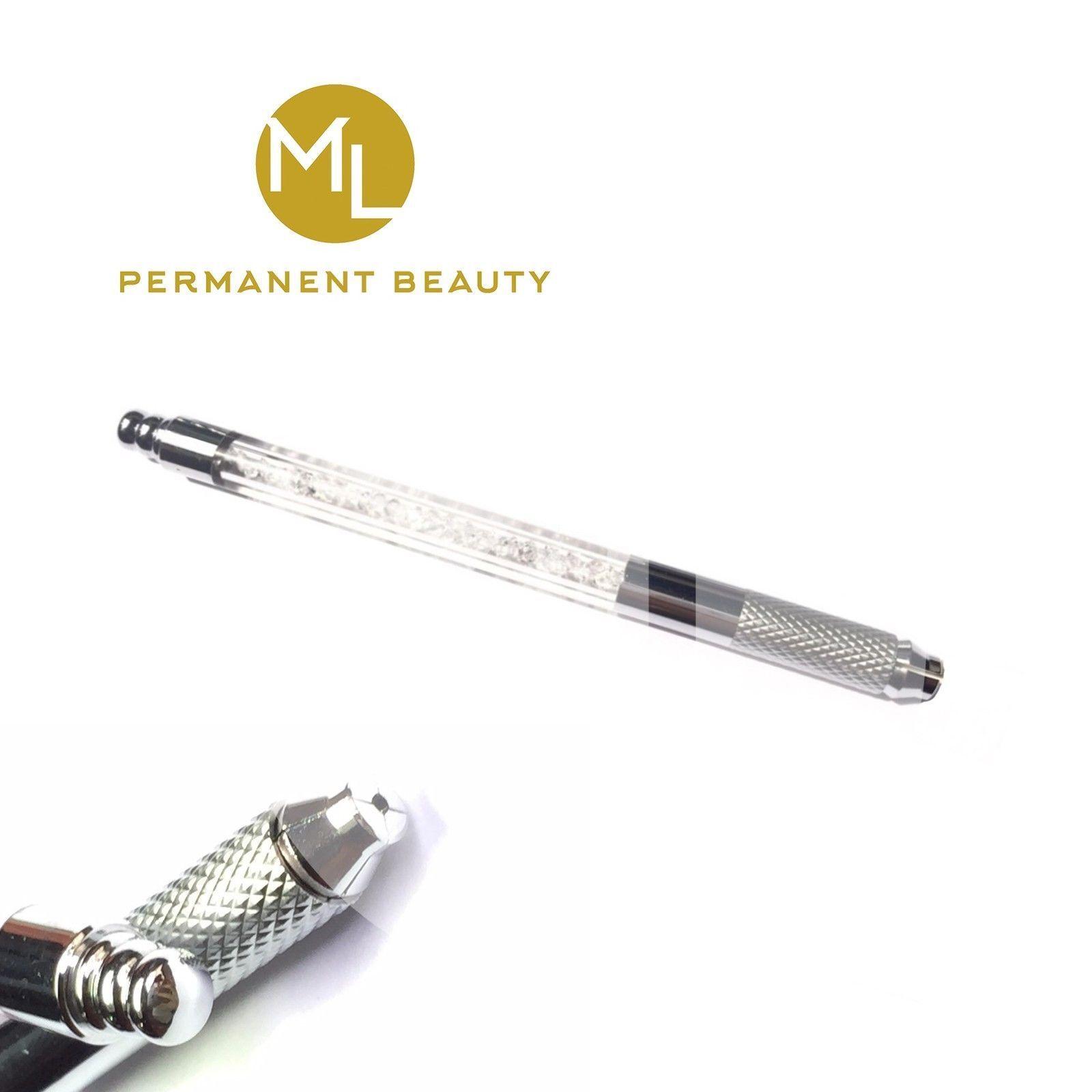 Microblading Stift Manuell Pen Permanent Makeup Gerät + Nadel, Set
