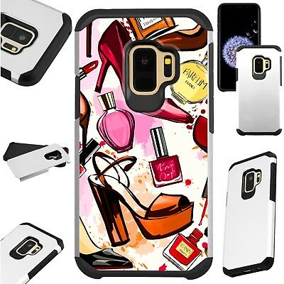 Galaxy Make Up (FusionGuard Case For Samsung Galaxy S9 S8 Note 8 Phone Case MAKE UP)