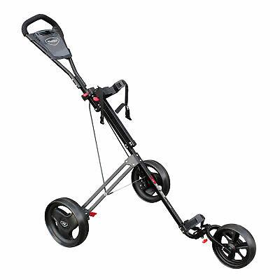 2020 Masters 5 Series Junior 3-Wheel Push Golf Trolley Cart Buggy Kids (Junior Golf Pull Cart)