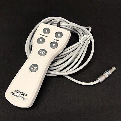 Stryker Endoscopy Ip67 Remote Control For Arthroscopy Pump 350-220-000
