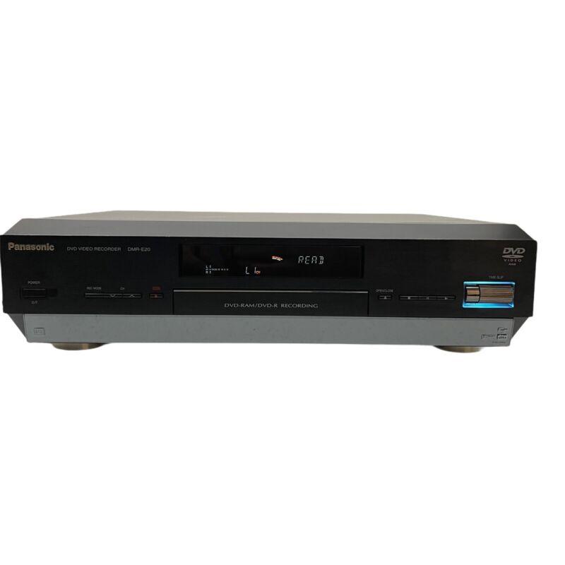 Panasonic DMR E20D DVD Recorder RAM DVD R Recording Player Black Made In Japan