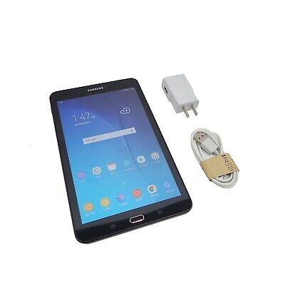 """Samsung Galaxy Tab E UNLOCKED! Black - 8"""" 16GB 4G Wi-Fi (SM-T377V)"""